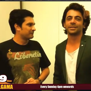 Sunil Grover with Divya Solgama on the G9 Show